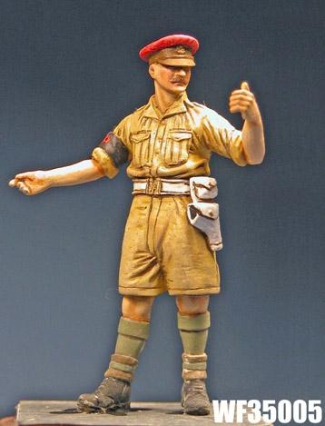 Wee Friends 35005 - British Military Policeman, Desert WWII