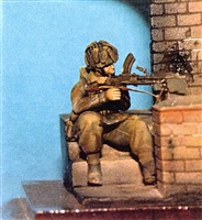 Wee Friends 35025 - WWII British Para Kneeling (Bren)