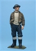 Wee Friends 35033 - WWII RN Sailor Relaxed Wearing Battle Dress