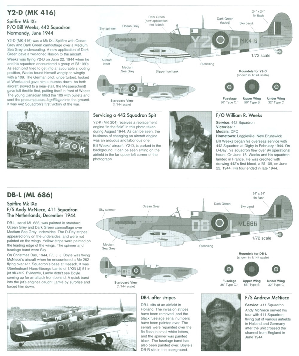 WaterMark 48003 - Canadian Spitfires, D-Day