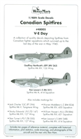 WaterMark 48005 - Canadian Spitfires, VE-Day