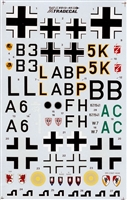 Xtradecal X013-48 - Junkers Ju 88A, C, G