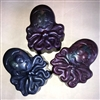 Octopus cleansing bar scented in Yuzu - refreshing citrus scent