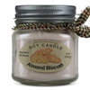 Almond Biscotti Scented Soy Candle