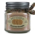 Snickerdoodle Scented Soy Candle