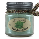 Herbal Scented Soy Candle