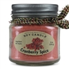 Cranberry Spice Scented Soy Candle