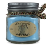 Soy Candle Scented in Snow Angel