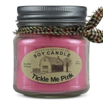 Tickle Me Pink Scented Soy Candle