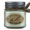 Wild Hyacinth Scented Soy Candle