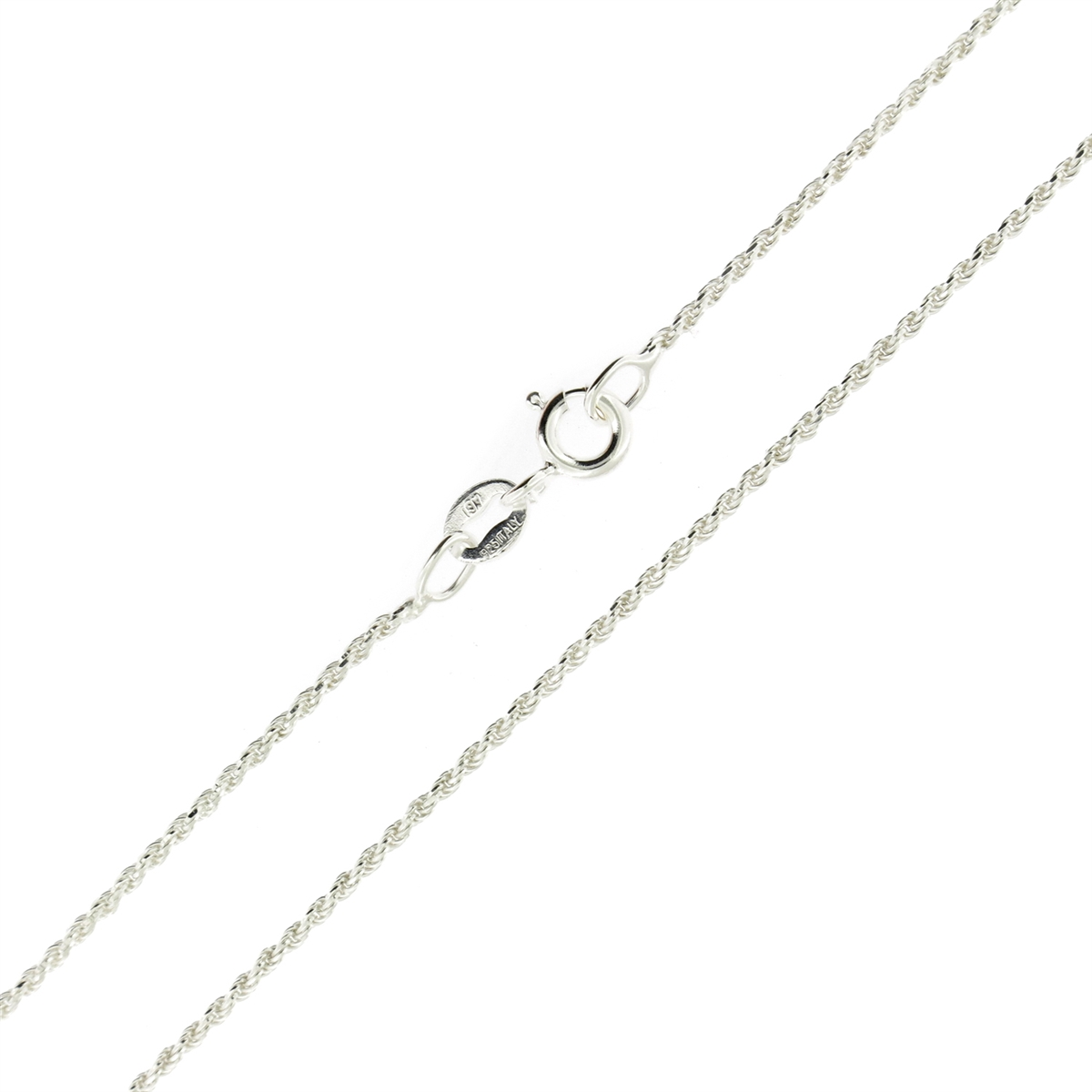 views dcrope diamond mm chain htm silver gorgeous rope necklace sterling p cut alternative or bracelet