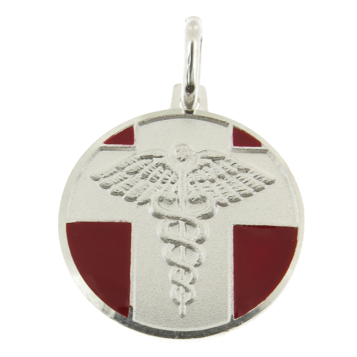 925 sterling silver medical id pendant with medical conditions alternative views mozeypictures Image collections