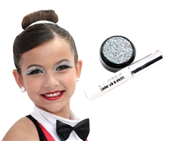 Holo Glitter Cheer or Dance  Makeup Kit 2 pc Best Seller