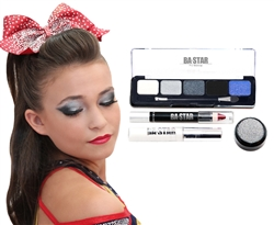 Gabi Midnight Smoky Eye Cheer Makeup Kit 4 pc