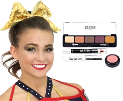Gabi Spicy Natural 4-Piece Cheer Makeup Kit