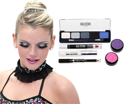 Ally Midnight Smoky & Plum 6-Piece Dance Makeup Kit
