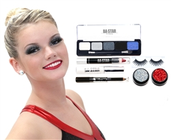 Ally Midnight Smoky 7-Piece Dance Makeup Kit