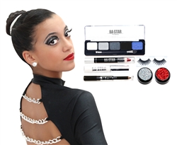 Idina Midnight Smoky 7-Piece Dance Makeup Kit