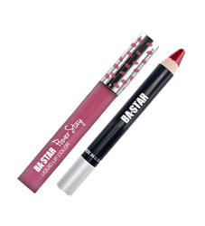 Pow Love Liquid Lipstick and Cranberry Lip Pencil