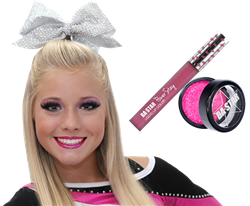 Pow Love Lip Paint + Hot Pink Glitter