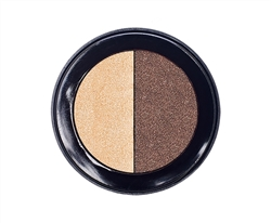 Natural  Duo Eye Shadow Compact. 