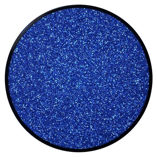 glitter makeup navy blue