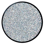 Holographic Silver Glitter Makeup