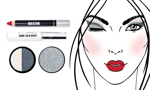 8d07c3a9bb3 Smoky Eyes and Silver glitter are the Best Seller for every ...