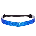 Glitter Head Band- Royal Blue