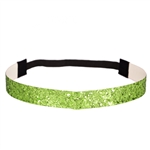 Glitter Head Band- Lime