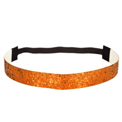 Glitter Head Band- Orange