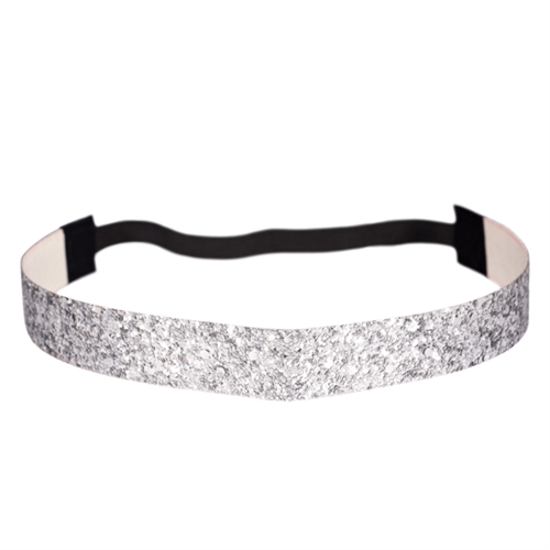 Silver Glitter Headband. Extra Strong Hold. c3c511a17fb