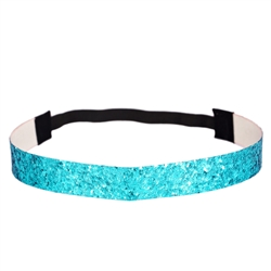 Glitter Head Band- Turquoise