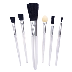 5 pc Mini Brush Set.  Free Makeup Kit Accessory