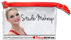 Clear Vinyl Makeup Bag Free with Cheer Makeup Kits, Dance Makeup Kits, Drill Team Makeup Kits or Dance Team Makeup Kits. If you are building a Custom Makeup Kit for group purchase or posting your makeup kits you always get a Free Makeup Bag