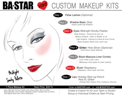 Custom  Face Chart Smokey