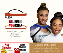 Queens Elite Cheer Youth 7 pc Makeup Kit