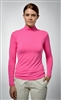 UV sun safe protected High Tech Polo neck - Fuchsia