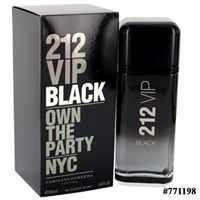 771198 212 VIP BLACK 6.8 EDP SP FOR MEN
