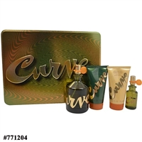 771204 CURVE 4 PCS SET FOR MEN: 4.2 COL SP