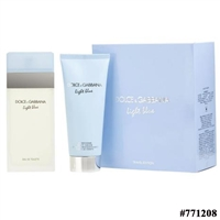 771208 DOLCE & GABBANA LIGHT BLUE 2 PCS SET 3.4