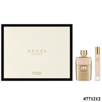 771212 GUCCI GUILTY 2 PCS SET FOR WOMEN: 3 OZ EDP SP
