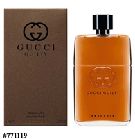 771253 GUCCI GUILTY ABSOLUTE 3 OZ EDP SP FOR MEN