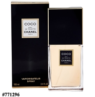 771296 COCO CHANEL EDT 3.4 oz. 100ml