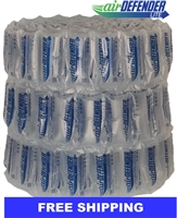 "4""x8"" Air Pillows 40 GALLONS 330 qty 5.33 CUBIC FT"