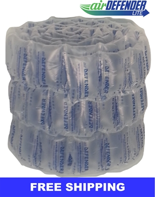 "6""x8"" Air Pillows 40 GALLONS 156 qty 5.33 CUBIC FT"