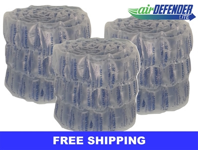 "6""x8"" Air Pillows 120 GALLONS 405 qty 16 CUBIC FT"