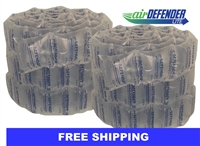 "8""x8"" Air Pillows 80 GALLONS 168 qty 10.67 CUBIC FT"