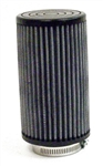 "Air Filter, Race, Open Element, Straight, 3"" x 4"" (1-5/8"" Opening)"