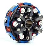 "Clutch, Bully, 3/4"", 2 Disc, 6 Spring Black, 3200 rpm"